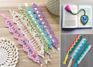 Gorgeous Crochet Bookmarks